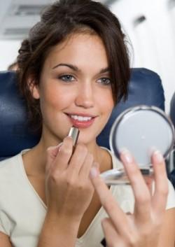 maquillage avion